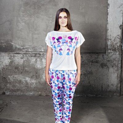 Dámské tričko (bubliny) – Polární záře 4